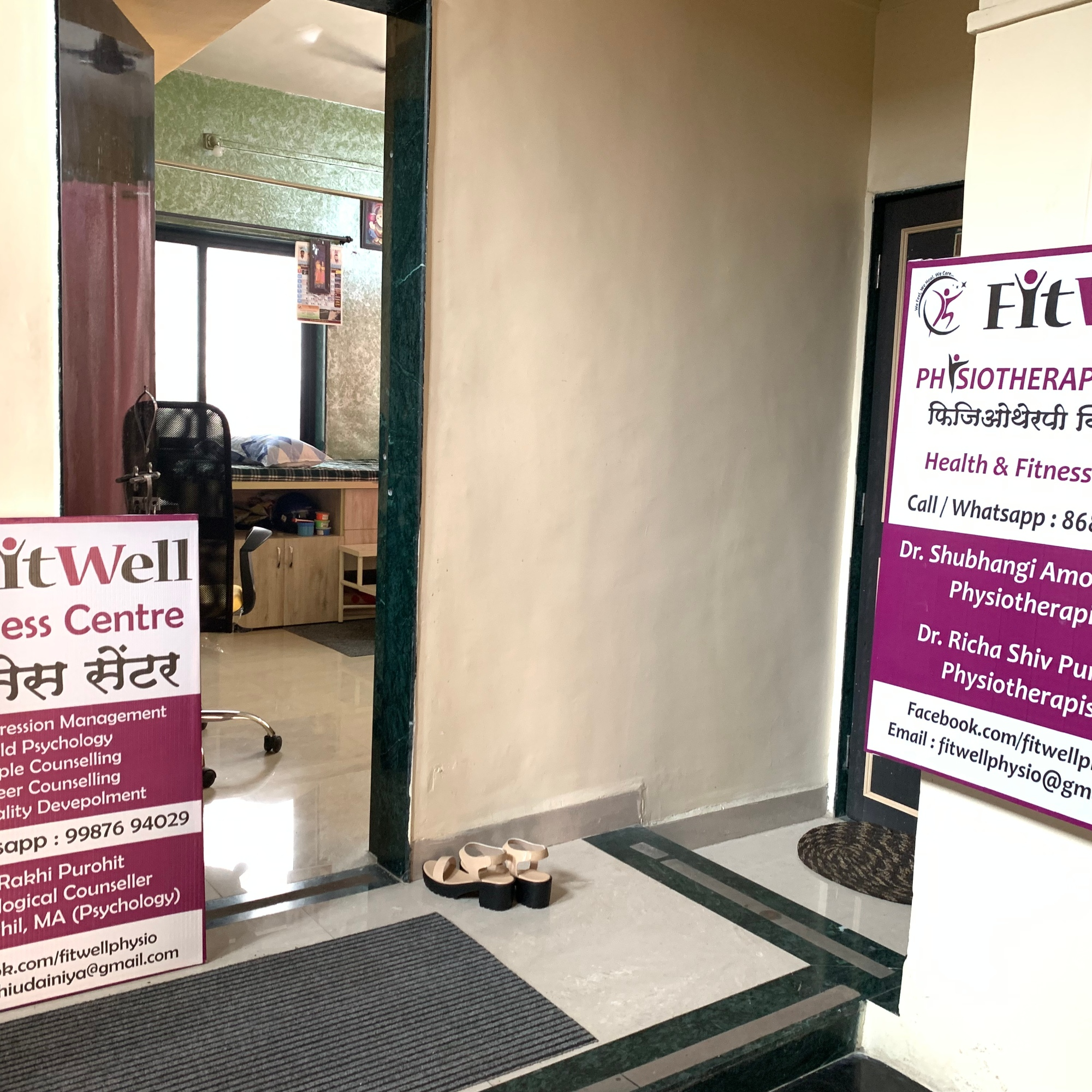 FitWell physiotherapy clinic keshav nagar pune